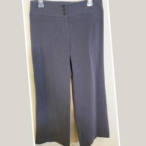 Style & Co. Gray Wide Leg Pants with Stretch